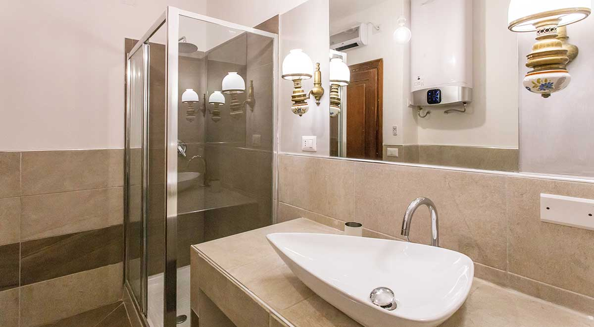 Bathroom - Luxury Apartment piazza Navona