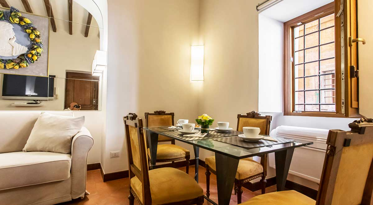 Living Room - Luxury Apartment piazza Navona