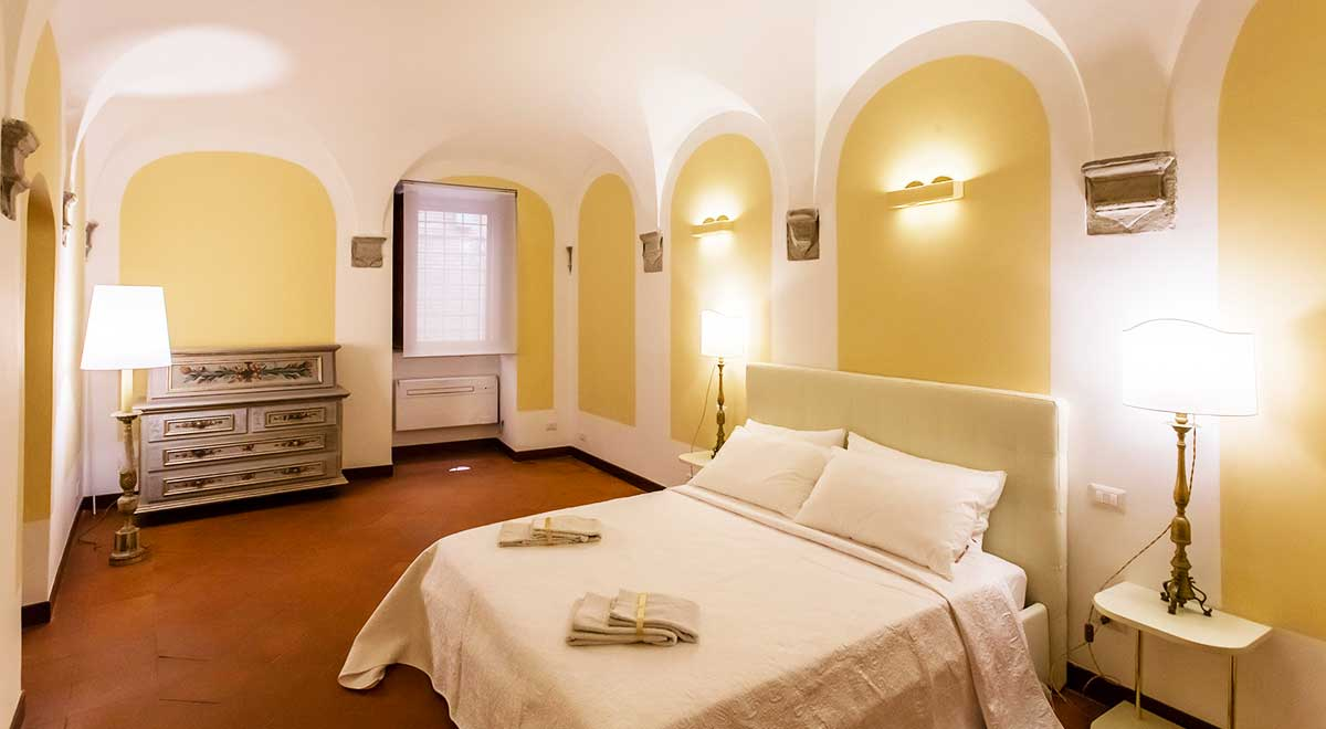 Bed Room 1 - Luxury Apartment piazza Navona